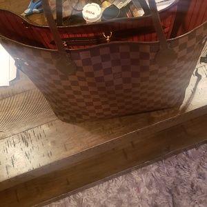 Authentic Louis Vuitton bag used